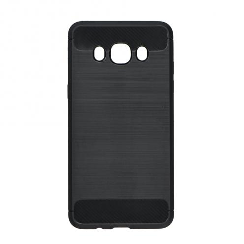 Forcell CARBON Coque pour Samsung Galaxy J7 2016 Noir