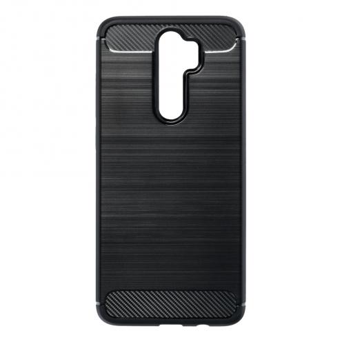 Forcell CARBON Coque pour Xiaomi Redmi NOTE 8 PRO Noir