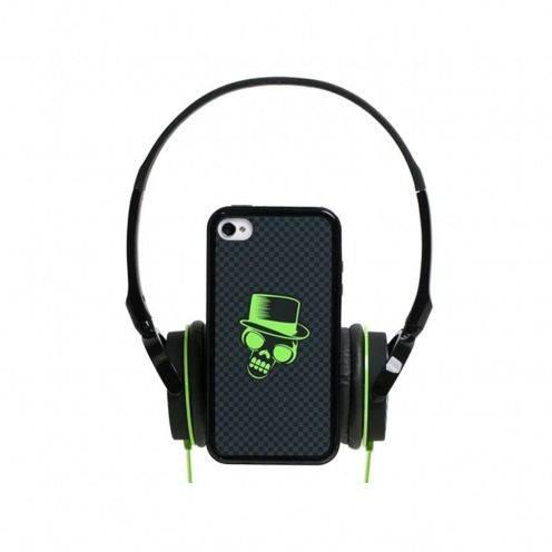 Visuel unique de Coffret casque audio avec bumper à dos amovible Blueway® So Rock Skull edition