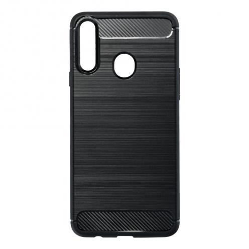 Forcell CARBON Coque pour Samsung Galaxy A21S Noir
