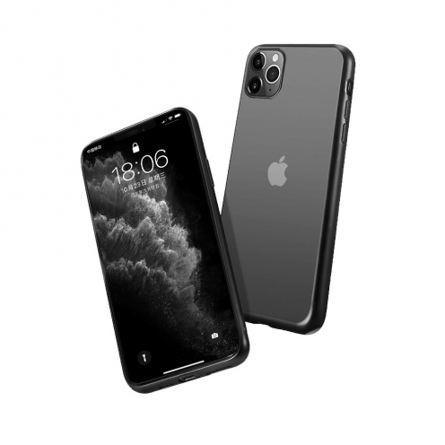 Forcell NEW ELECTRO MATT Coque pour Samsung A21S Noir