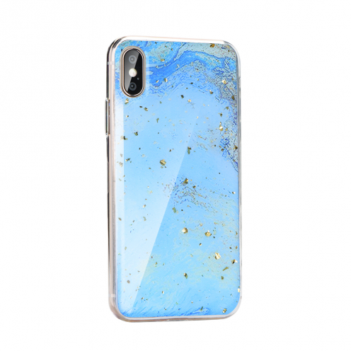 Forcell MARBLE Coque pour Huawei P40 Lite E design 3