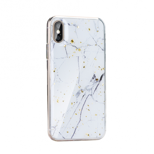 Forcell MARBLE Coque pour Huawei Y6P design 1