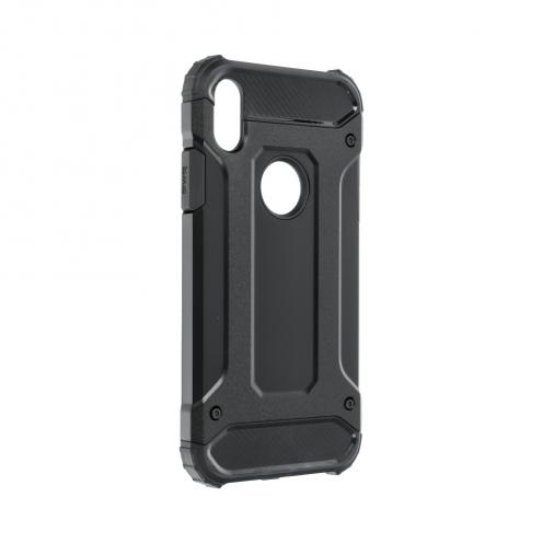 "Forcell ARMOR Coque pour iPhone XR ( 6,1"" ) Noir"