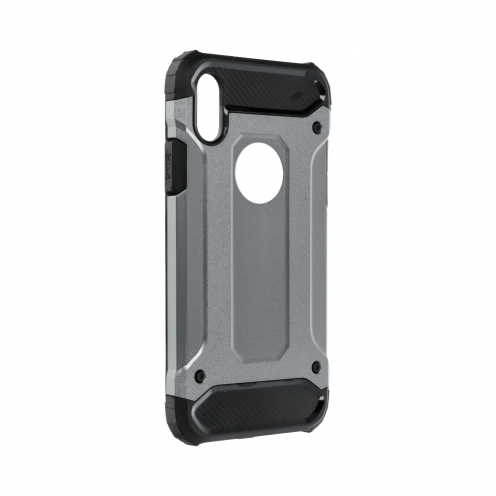 """Forcell ARMOR Coque pour iPhone XS ( 5,8"""" ) Gris"""