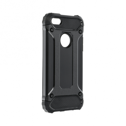 Forcell ARMOR Coque pour iPhone 5/5S/SE Noir