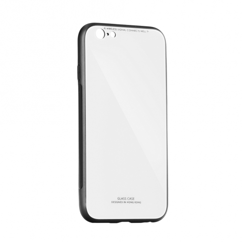 """GLASS Coque pour iPhone XS ( 5,8"""" ) Blanc"""