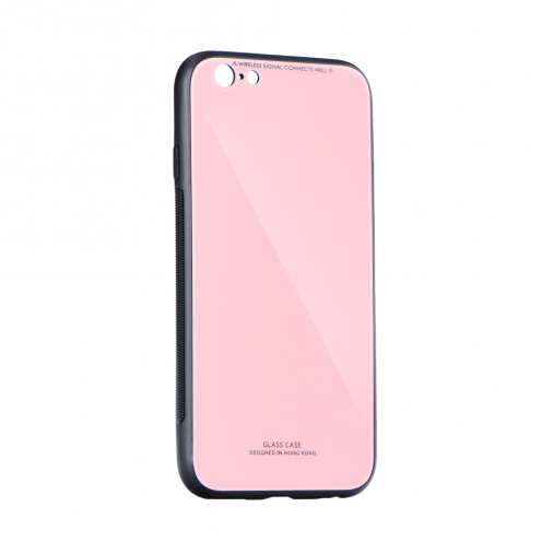 """GLASS Coque pour iPhone XS ( 5,8"""" ) Rose"""
