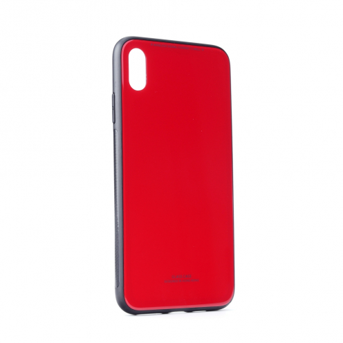 """GLASS Coque pour iPhone XS Max ( 6,5"""" ) Rouge"""