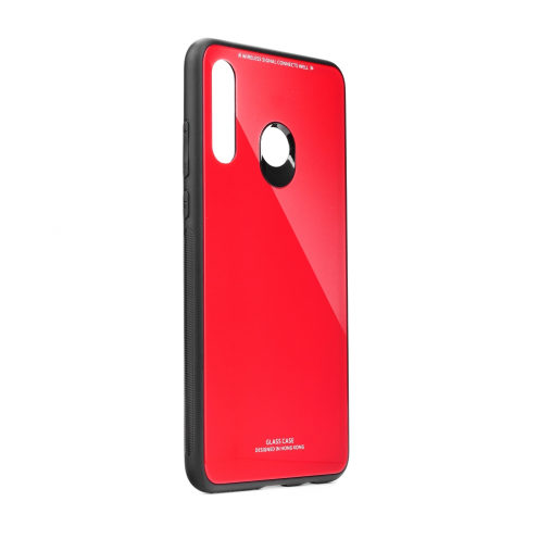 GLASS Coque pour Huawei P30 LITE Rouge