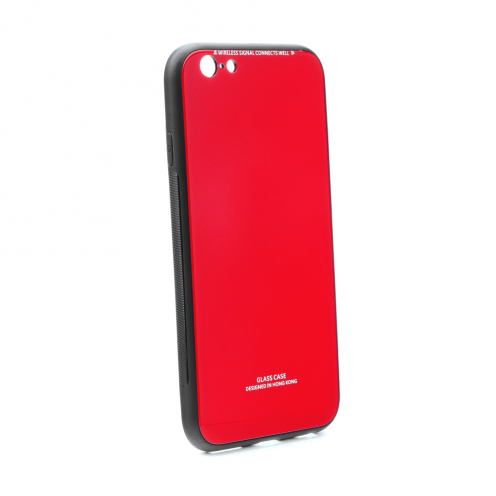 GLASS Coque pour iPhone 6 / 6S Rouge