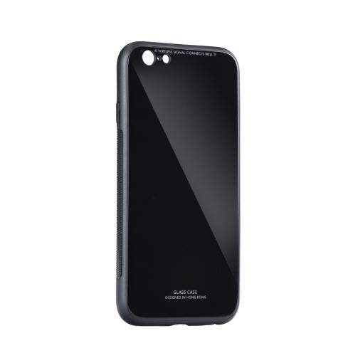 GLASS Coque pour iPhone 7 / 8 / SE 2020 Noir