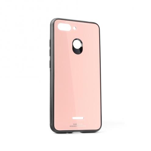 GLASS Coque pour Xiaomi Redmi 7 Rose