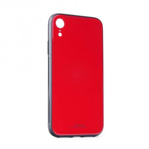 """GLASS Coque pour iPhone 11 2019 ( 6,1"""" ) Rouge"""
