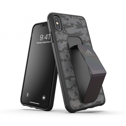 ADIDAS SP Grip Coque CAMO pour iPhone XS MAX Noir