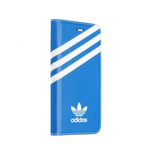 ADIDAS Booklet Coque BASICS iPhone 7 / 8 bluebird / Blanc