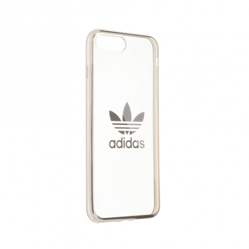 ADIDAS Originals ENTRY Clear Coque iPhone 7 PLUS / 8 PLUS couleur argent