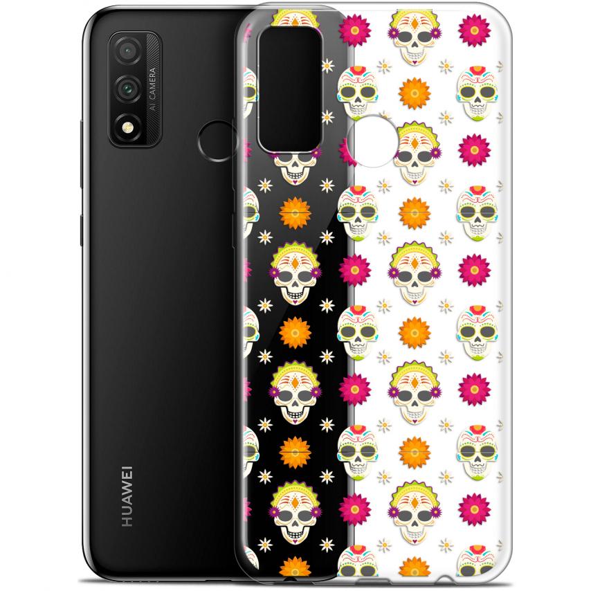 """Coque Gel Huawei P Smart 2020 (6.2"""") Extra Fine Halloween - Skull Halloween"""