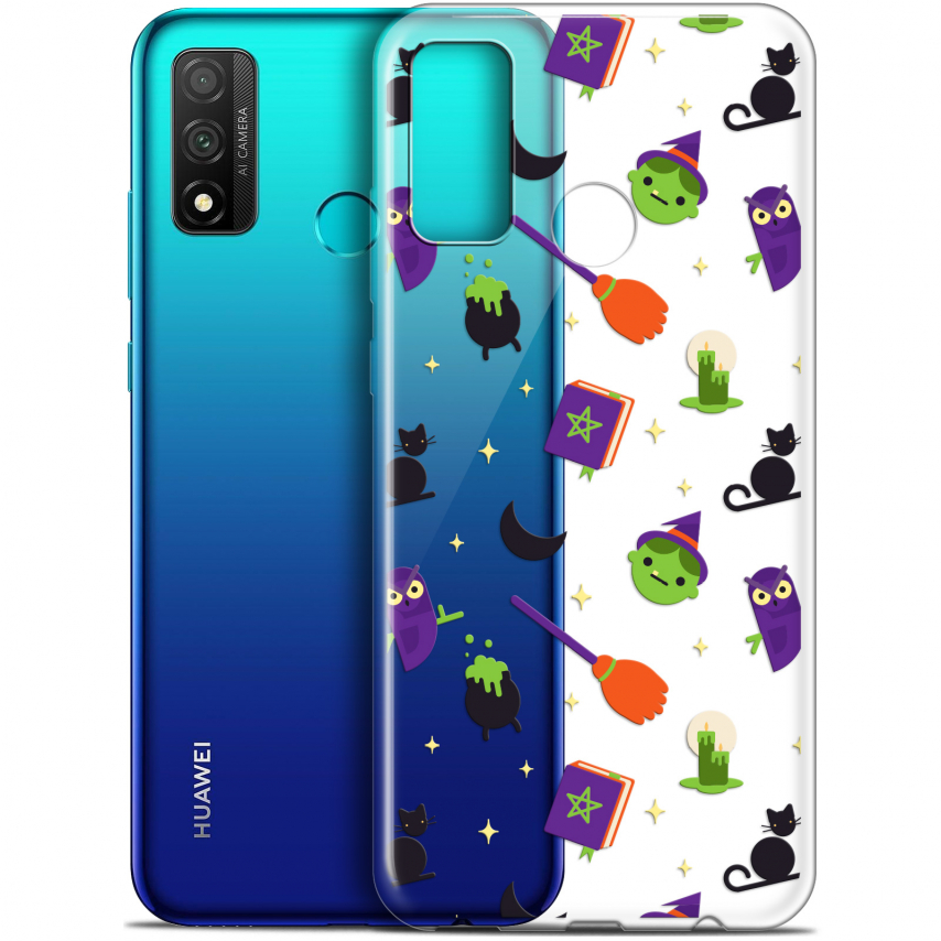 "Coque Gel Huawei P Smart 2020 (6.2"") Extra Fine Halloween - Witch Potter"