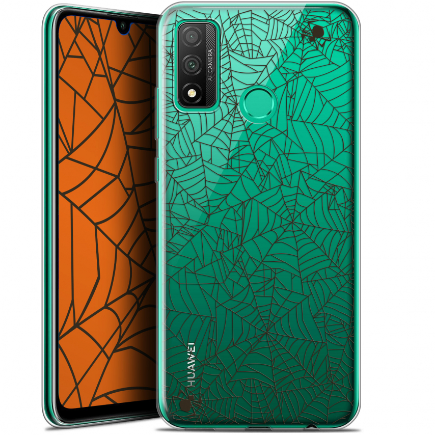 "Coque Gel Huawei P Smart 2020 (6.2"") Extra Fine Halloween - Spooky Spider"