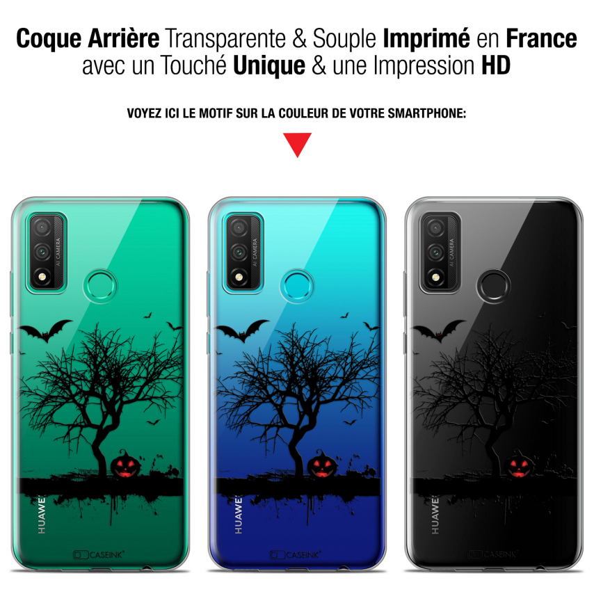 "Coque Gel Huawei P Smart 2020 (6.2"") Extra Fine Halloween - Devil's Tree"