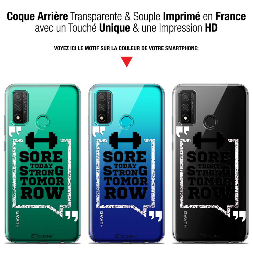 """Coque Gel Huawei P Smart 2020 (6.2"""") Extra Fine Quote - Strong Tomorrow"""