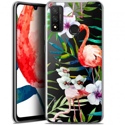 "Coque Gel Huawei P Smart 2020 (6.2"") Extra Fine Watercolor - Tropical Flamingo"