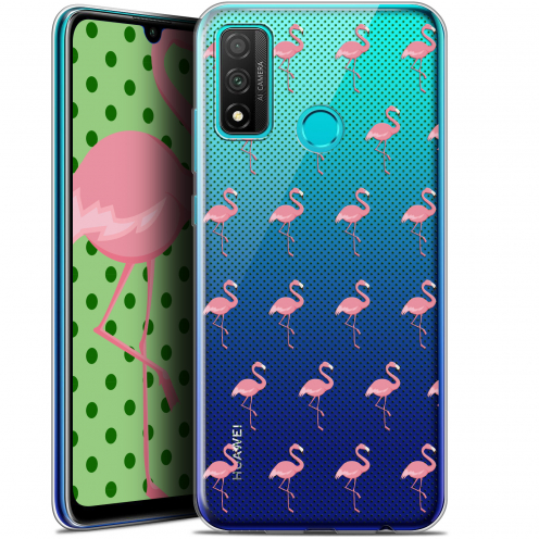 """Coque Gel Huawei P Smart 2020 (6.2"""") Extra Fine Pattern - Les flamants Roses Dots"""