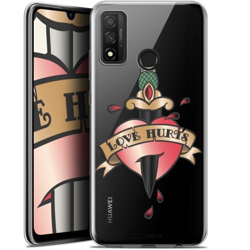 "Coque Gel Huawei P Smart 2020 (6.2"") Extra Fine Tatoo Lover - Love Hurts"