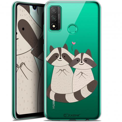 """Coque Gel Huawei P Smart 2020 (6.2"""") Extra Fine Sweetie - Racoon Love"""