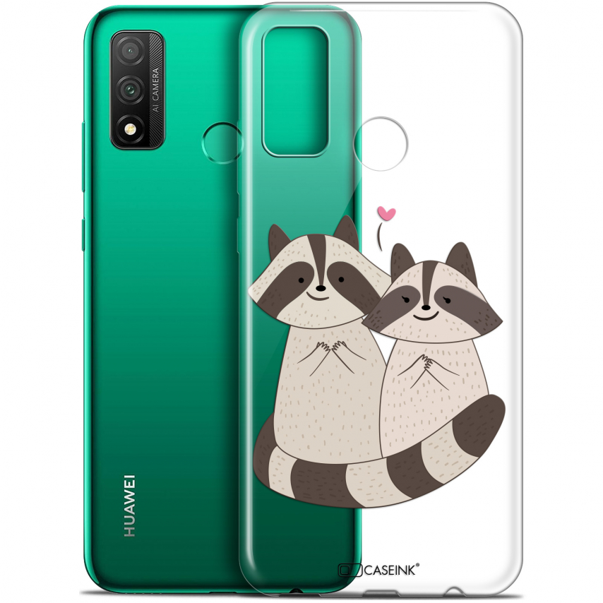 "Coque Gel Huawei P Smart 2020 (6.2"") Extra Fine Sweetie - Racoon Love"