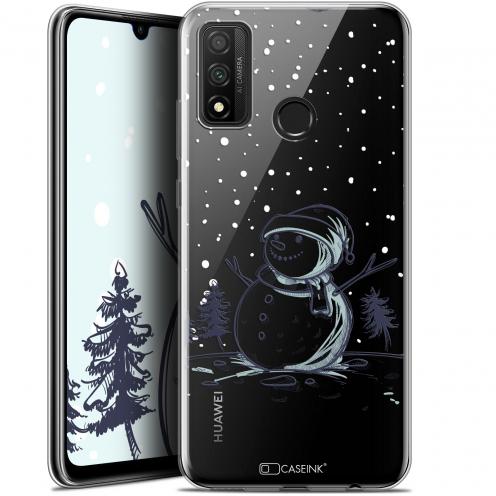"""Coque Gel Huawei P Smart 2020 (6.2"""") Extra Fine Noël - Bonhomme de Neige"""