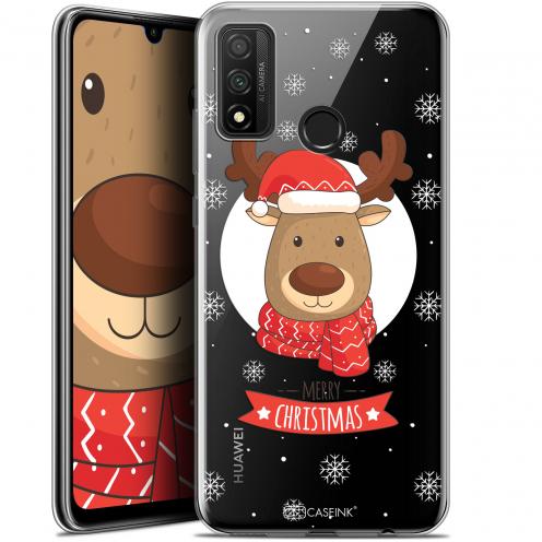 """Coque Gel Huawei P Smart 2020 (6.2"""") Extra Fine Noël - Cerf à Echarpe"""