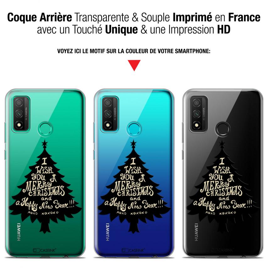 "Coque Gel Huawei P Smart 2020 (6.2"") Extra Fine Noël - XOXO Tree"