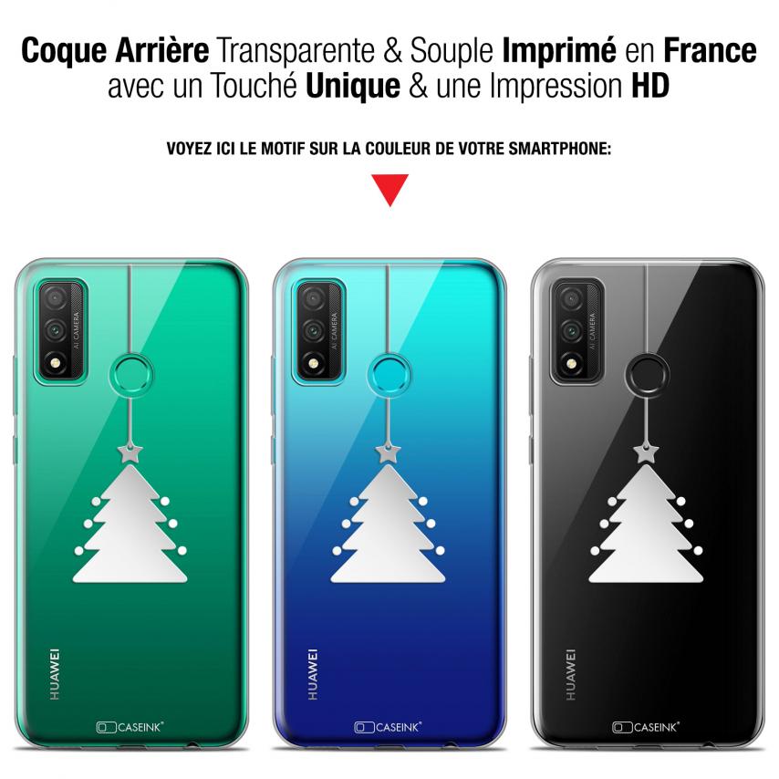 "Coque Gel Huawei P Smart 2020 (6.2"") Extra Fine Noël - Petit Arbre"