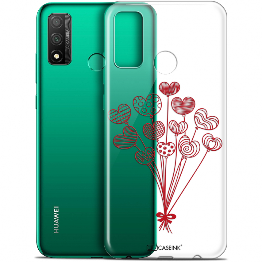 """Coque Gel Huawei P Smart 2020 (6.2"""") Extra Fine Love - Ballons d'amour"""