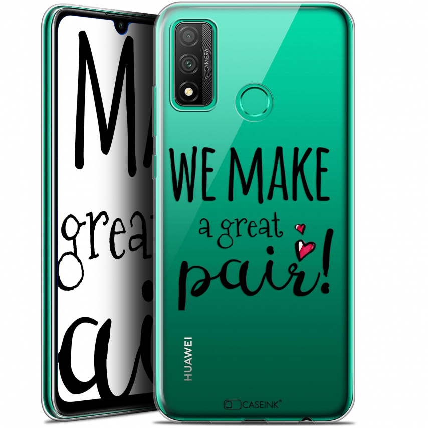 "Coque Gel Huawei P Smart 2020 (6.2"") Extra Fine Love - We Make Great Pair"