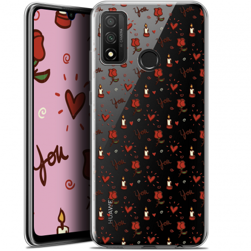 """Coque Gel Huawei P Smart 2020 (6.2"""") Extra Fine Love - Bougies et Roses"""