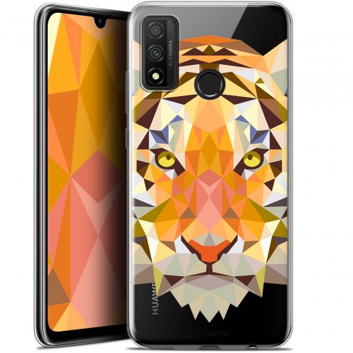"Coque Gel Huawei P Smart 2020 (6.2"") Extra Fine Polygon Animals - Tigre"
