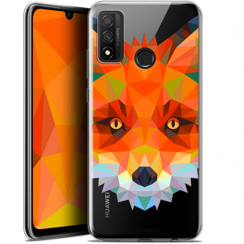 "Coque Gel Huawei P Smart 2020 (6.2"") Extra Fine Polygon Animals - Renard"