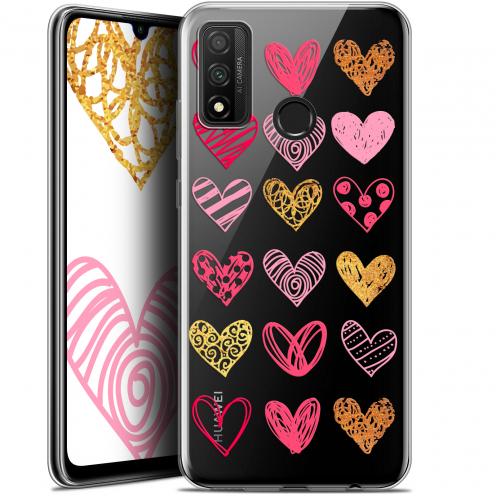 """Coque Gel Huawei P Smart 2020 (6.2"""") Extra Fine Sweetie - Doodling Hearts"""