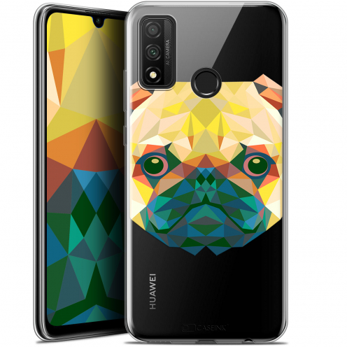 "Coque Gel Huawei P Smart 2020 (6.2"") Extra Fine Polygon Animals - Chien"