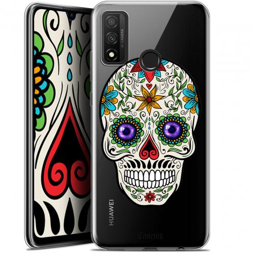 "Coque Gel Huawei P Smart 2020 (6.2"") Extra Fine Skull - Maria's Flower"