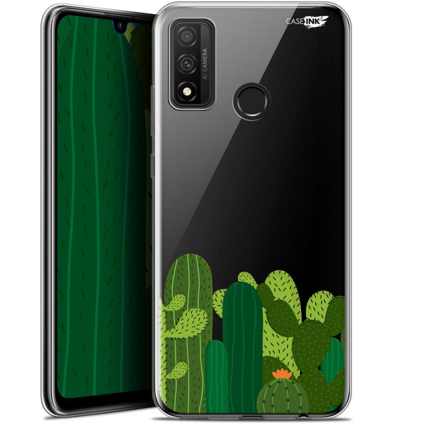 "Coque Gel Huawei P Smart 2020 (6.2"") Extra Fine Motif - Cactus"