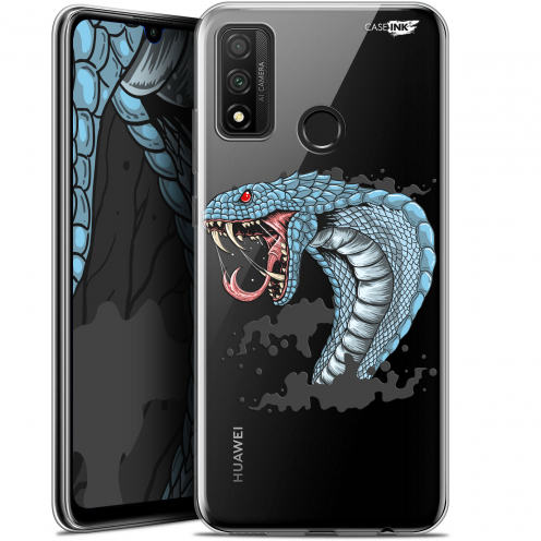 "Coque Gel Huawei P Smart 2020 (6.2"") Extra Fine Motif - Cobra Draw"