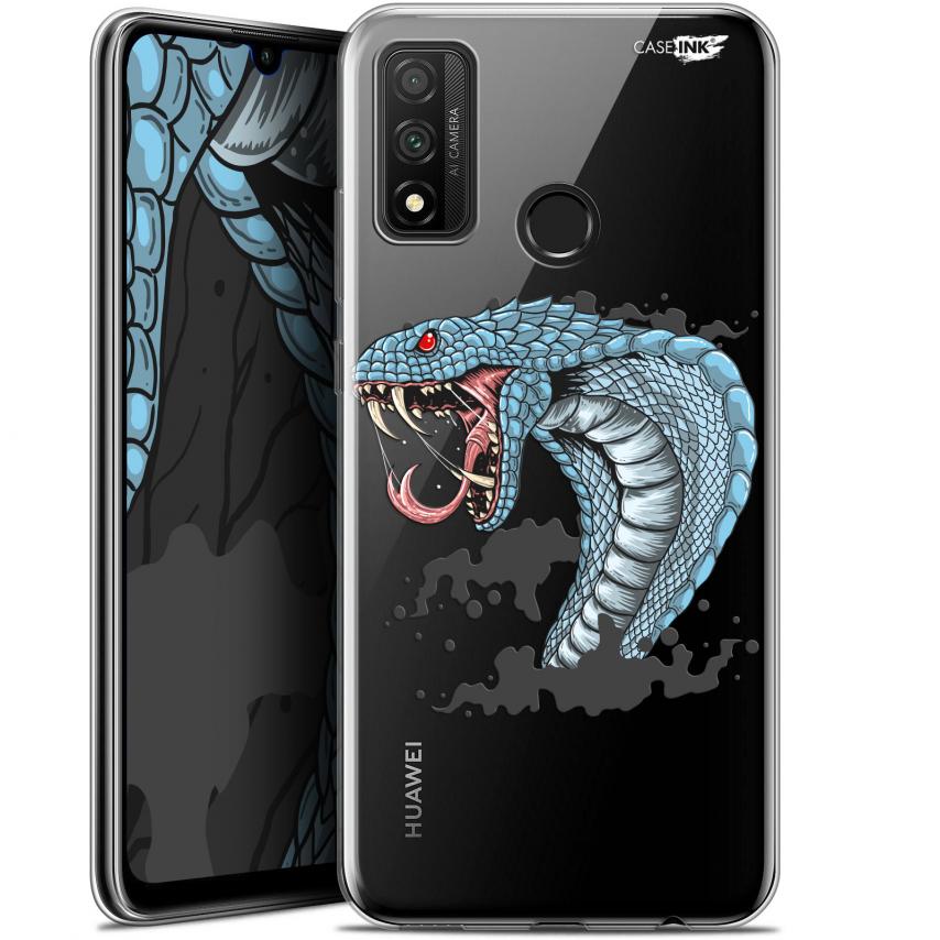 """Coque Gel Huawei P Smart 2020 (6.2"""") Extra Fine Motif - Cobra Draw"""