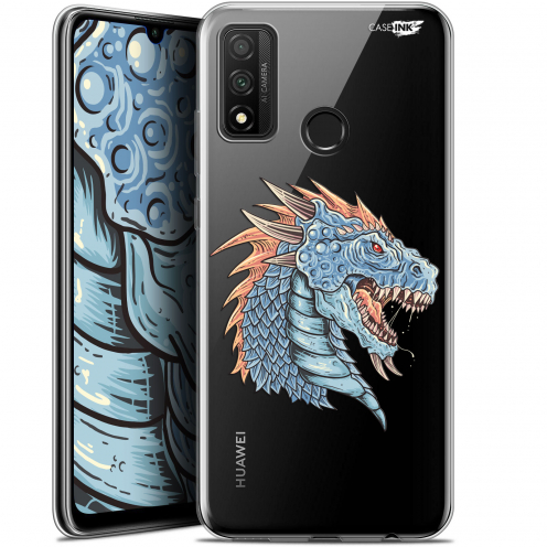 "Coque Gel Huawei P Smart 2020 (6.2"") Extra Fine Motif - Dragon Draw"