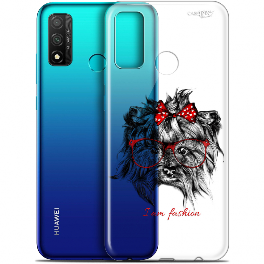 "Coque Gel Huawei P Smart 2020 (6.2"") Extra Fine Motif - Fashion Dog"