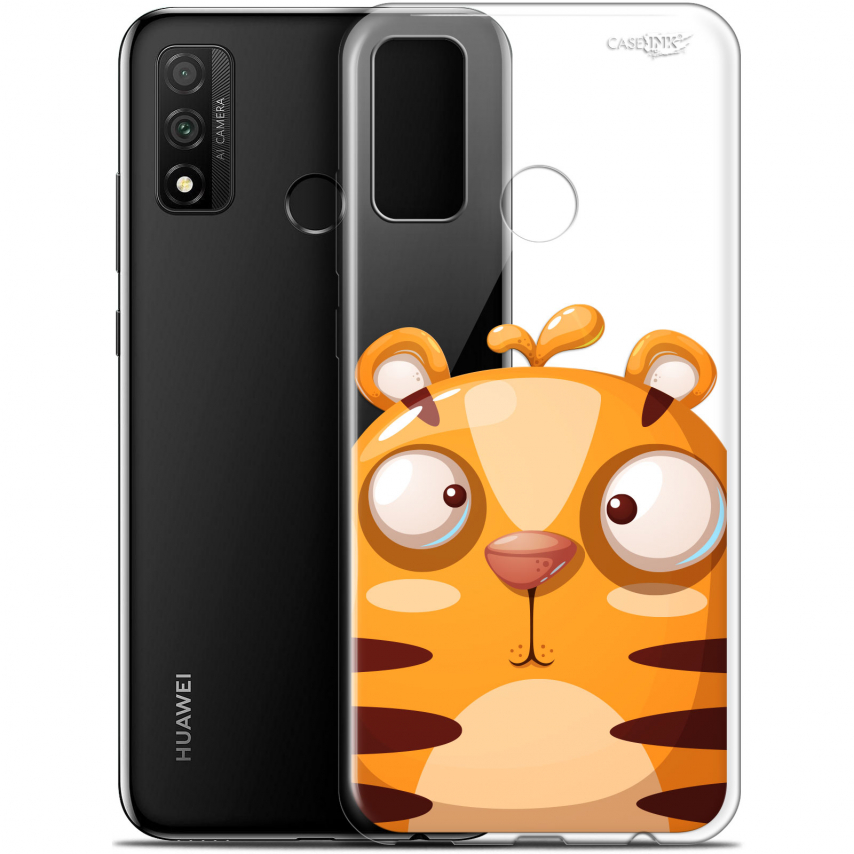 "Coque Gel Huawei P Smart 2020 (6.2"") Extra Fine Motif - Cartoon Tiger"