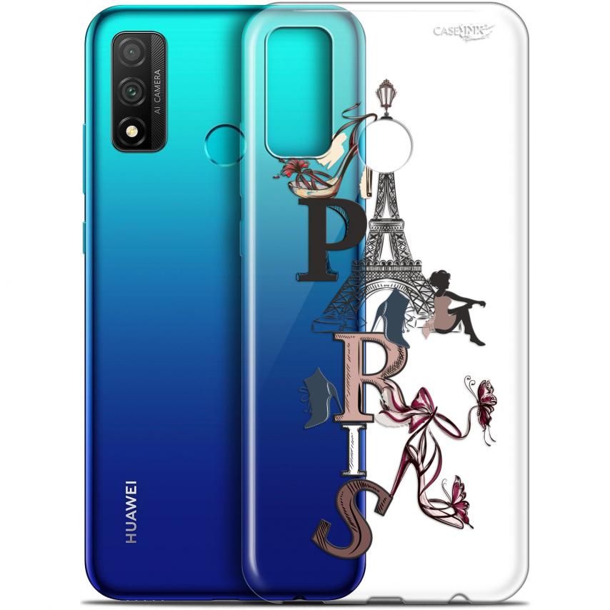 "Coque Gel Huawei P Smart 2020 (6.2"") Extra Fine Motif - Stylish Paris"